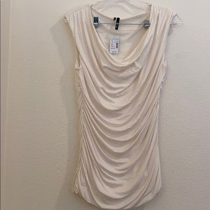 NEW WITH TAGS white blouse from maurices
